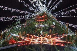 Daugavpils Ziemassvētku laikā saposusies īpaši grezni 8