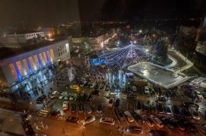 Daugavpils Ziemassvētku laikā saposusies īpaši grezni 11