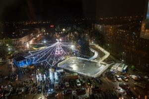 Daugavpils Ziemassvētku laikā saposusies īpaši grezni 12