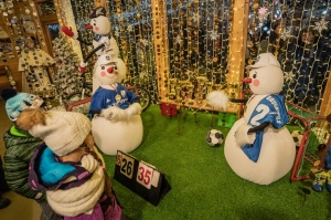Daugavpils Ziemassvētku laikā saposusies īpaši grezni 15
