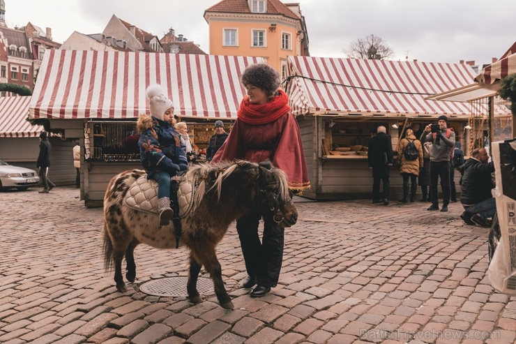 Vecrīgas Ziemassvētku tirdziņš pulcē gan vietējos rīdziniekus, gan pilsētas viesus