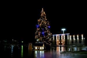 Egles iemirdzēšanās svētki ieskandinājuši Ziemassvētku gaidīšanas laiku Preiļu novadā 1