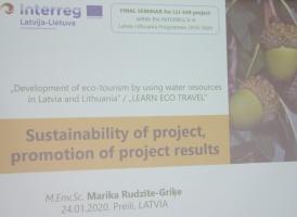 Travelnews.lv piedalās 24.01.2020 Preiļu seminārā «Ekotūrisma attīstība Latvijā un Lietuvā izmantojot ūdens resursus» 18