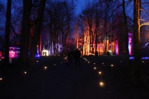 Lielvārdes muižas parku pasākumā «Sveču nakts» piepilda gaismas un uguns mistērija 2