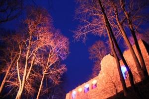 Lielvārdes muižas parku pasākumā «Sveču nakts» piepilda gaismas un uguns mistērija 9