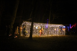 Lielvārdes muižas parku pasākumā «Sveču nakts» piepilda gaismas un uguns mistērija 20