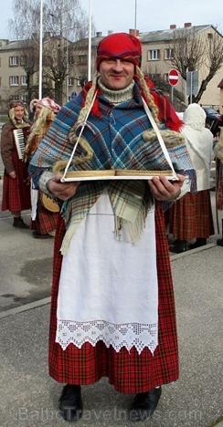 Līvānos norisinājās XXI Starptautiskais masku tradīciju festivāls, kurā piedalījās 24 masku grupasno Latvijas un citām valstīm