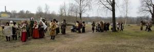 Līvānos norisinājās XXI Starptautiskais masku tradīciju festivāls, kurā piedalījās 24 masku grupasno Latvijas un citām valstīm 5