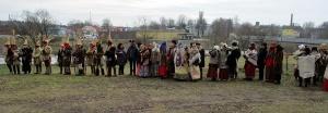 Līvānos norisinājās XXI Starptautiskais masku tradīciju festivāls, kurā piedalījās 24 masku grupasno Latvijas un citām valstīm 6