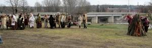 Līvānos norisinājās XXI Starptautiskais masku tradīciju festivāls, kurā piedalījās 24 masku grupasno Latvijas un citām valstīm 22