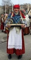 Līvānos norisinājās XXI Starptautiskais masku tradīciju festivāls, kurā piedalījās 24 masku grupasno Latvijas un citām valstīm 23