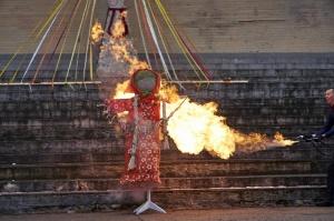 Rēzeknē svin tradicionālos slāvu tautību svētkus «Masļeņica» 49