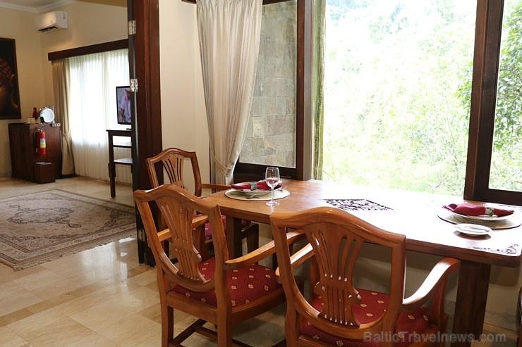 Travelnews.lv iepazīst Bali džungļu viesnīcas «Ayung Resort Ubud» villas.  «Turkish Airlines» un «365 Brīvdienas»