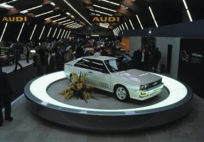Leģendārā Audi pilnpiedziņas sistēma quattro šogad svin 40 gadu kopš tās prezentācijas Audi quattro modelī 1980. gadā 3