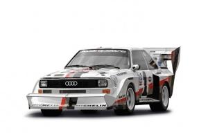 Leģendārā Audi pilnpiedziņas sistēma quattro šogad svin 40 gadu kopš tās prezentācijas Audi quattro modelī 1980. gadā 9