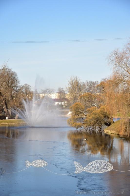 Valmieras pilsēta un Gaujas krasti lēnām plaukst un ir pavasara gaidās