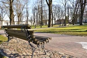 Valmieras pilsēta un Gaujas krasti lēnām plaukst un ir pavasara gaidās 7