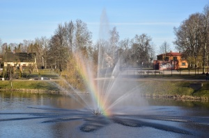 Valmieras pilsēta un Gaujas krasti lēnām plaukst un ir pavasara gaidās 11