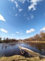 Valmieras pilsēta un Gaujas krasti lēnām plaukst un ir pavasara gaidās 13