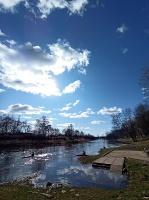 Valmieras pilsēta un Gaujas krasti lēnām plaukst un ir pavasara gaidās 14