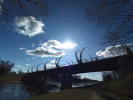 Valmieras pilsēta un Gaujas krasti lēnām plaukst un ir pavasara gaidās 16