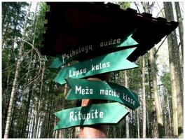 Lielvārdē ceļotāji var baudīt pastaigu dabas takās un parkos 2