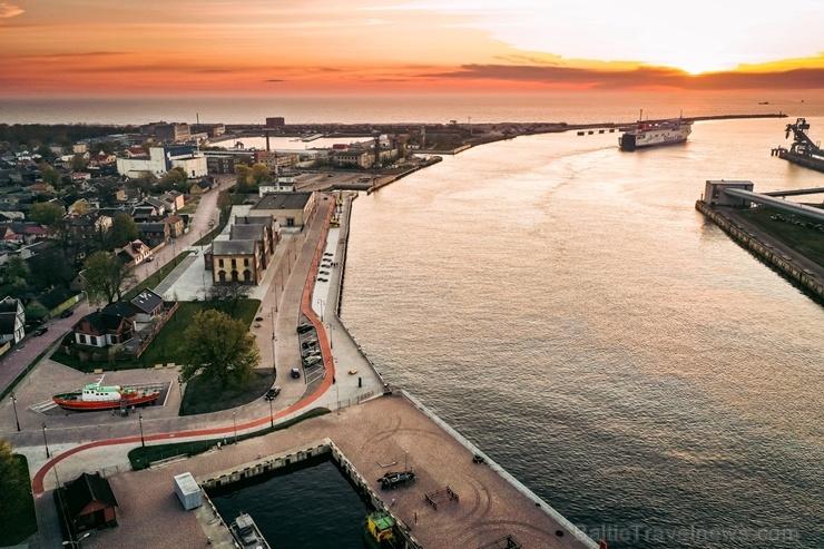 Ventspils pusē ceļotājiem pieejamas pavasarīgas pastaigu vietas