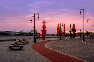 Ventspils pusē ceļotājiem pieejamas pavasarīgas pastaigu vietas 1