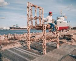 Ventspils pusē ceļotājiem pieejamas pavasarīgas pastaigu vietas 10