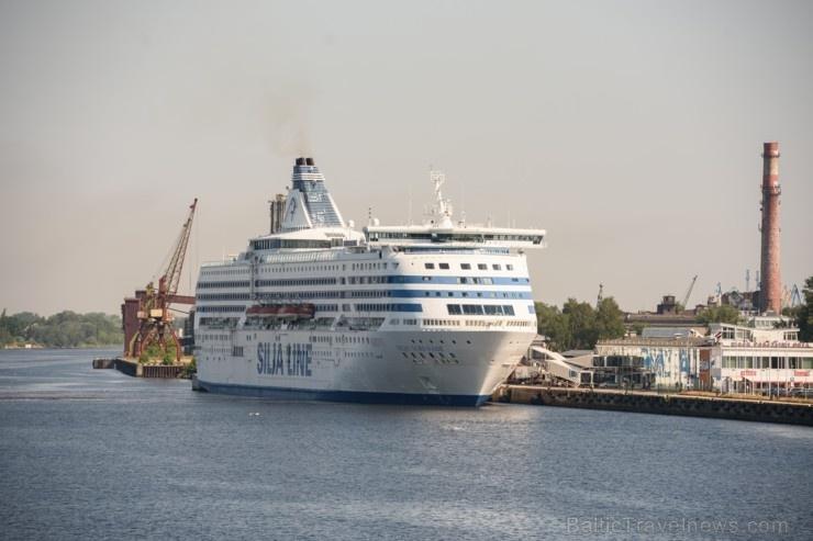 Greznais kuģis, kas parasti kursē maršrutā Helsinki – Stokholma, šovasar – jūlijā un augusta pirmajā pusē – apkalpos pagaidu maršrutu Helsinki–Rīga