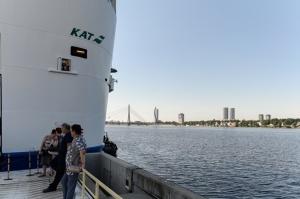 Greznais kuģis, kas parasti kursē maršrutā Helsinki – Stokholma, šovasar – jūlijā un augusta pirmajā pusē – apkalpos pagaidu maršrutu Helsinki–Rīga 17