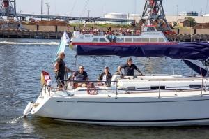 Ventspilī uz «Gulf of Riga Regatta 2020» buru parādi ierodas vairāk nekā 50 jahtas 5