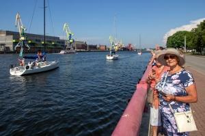 Ventspilī uz «Gulf of Riga Regatta 2020» buru parādi ierodas vairāk nekā 50 jahtas 6