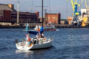 Ventspilī uz «Gulf of Riga Regatta 2020» buru parādi ierodas vairāk nekā 50 jahtas 7