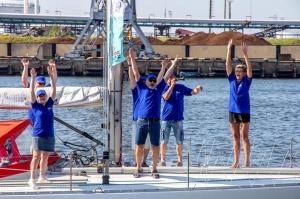 Ventspilī uz «Gulf of Riga Regatta 2020» buru parādi ierodas vairāk nekā 50 jahtas 9