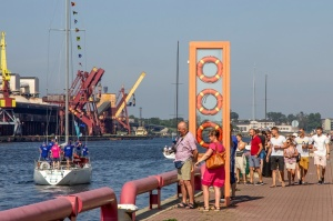 Ventspilī uz «Gulf of Riga Regatta 2020» buru parādi ierodas vairāk nekā 50 jahtas 13