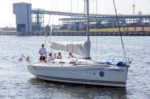 Ventspilī uz «Gulf of Riga Regatta 2020» buru parādi ierodas vairāk nekā 50 jahtas 17