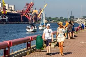 Ventspilī uz «Gulf of Riga Regatta 2020» buru parādi ierodas vairāk nekā 50 jahtas 24