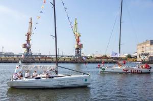 Ventspilī uz «Gulf of Riga Regatta 2020» buru parādi ierodas vairāk nekā 50 jahtas 31