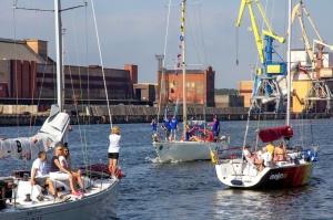 Ventspilī uz «Gulf of Riga Regatta 2020» buru parādi ierodas vairāk nekā 50 jahtas 35