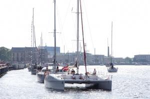 Ventspilī uz «Gulf of Riga Regatta 2020» buru parādi ierodas vairāk nekā 50 jahtas 36