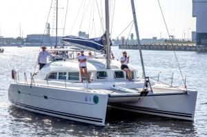 Ventspilī uz «Gulf of Riga Regatta 2020» buru parādi ierodas vairāk nekā 50 jahtas 40