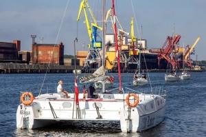 Ventspilī uz «Gulf of Riga Regatta 2020» buru parādi ierodas vairāk nekā 50 jahtas 42