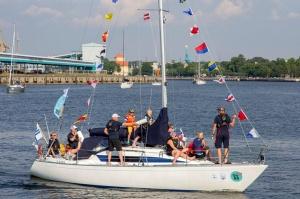 Ventspilī uz «Gulf of Riga Regatta 2020» buru parādi ierodas vairāk nekā 50 jahtas 48