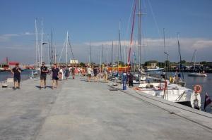 Ventspilī uz «Gulf of Riga Regatta 2020» buru parādi ierodas vairāk nekā 50 jahtas 56
