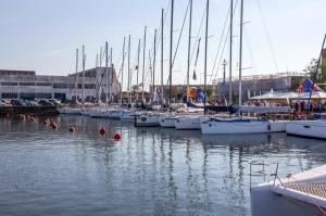 Ventspilī uz «Gulf of Riga Regatta 2020» buru parādi ierodas vairāk nekā 50 jahtas 60