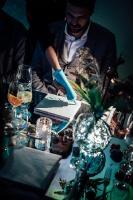 Liepājas Karostā uz smalkām pazemes vakariņām pulcējas garšu un mākslas cienītāji 10
