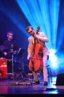 Melo-M un Dināra Rudāne ar lielām emocijām uzstājas Liepājas koncertzālē «Lielais dzintars». Foto: Līga Tetere 6