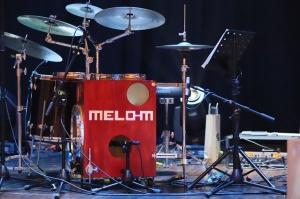 Melo-M un Dināra Rudāne ar lielām emocijām uzstājas Liepājas koncertzālē «Lielais dzintars». Foto: Līga Tetere 14