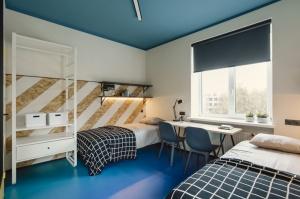 Rīgā atklāj jaunu naktsmītni «Duck Republik Student Hotel Riga» 11